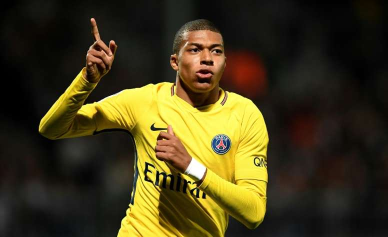 Mbappe has a place amongst the world's most talented teenagers. AFP