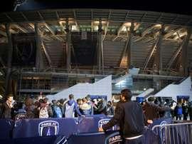 Le Paris FC et Lens donnent le coup d'envoi. AFP