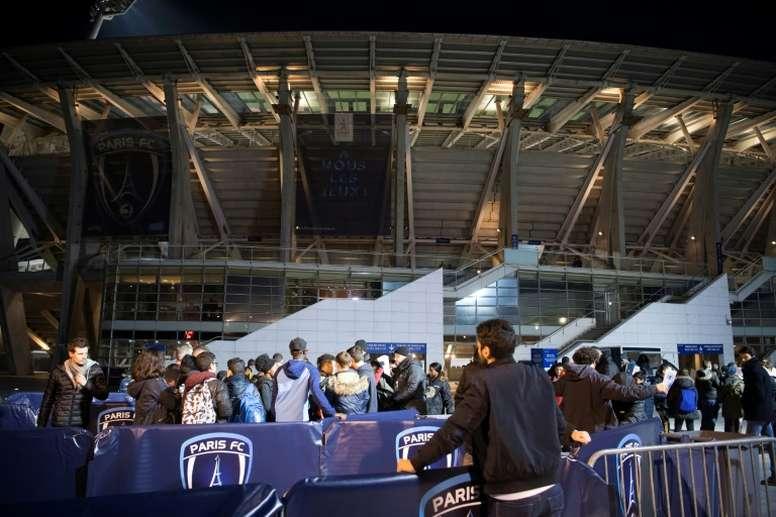 Nouvelle recrue pour le Paris FC. AFP