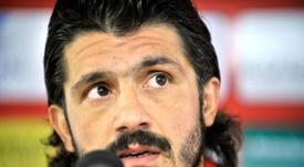 O Milan perdeu na Croácia. AFP
