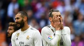 Al Madrid le está costando este curso. AFP