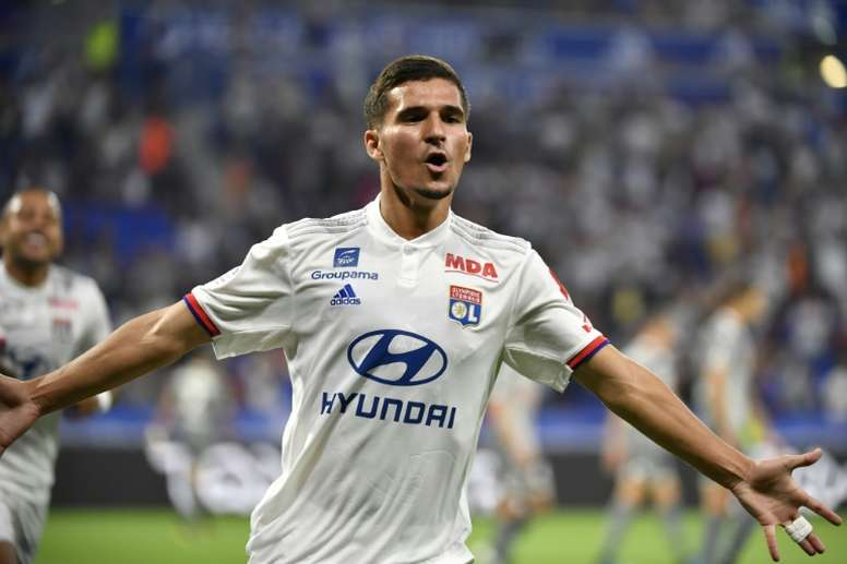Manchester City are interested in Aouar. AFP
