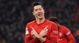 Lewandowski dévoile le nom du défenseur qu'il craint le plus. AFP