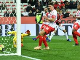 Les compos probables du match de Ligue 1 entre Amiens et Nîmes. AFP
