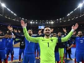 La France est qualifiée directement au Mondial 2018. AFP