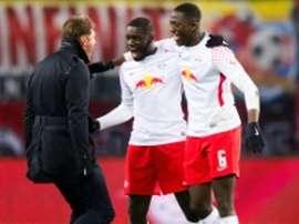 Ibrahima Konaté, dans les orbites de Chelsea et Arsenal. AFP