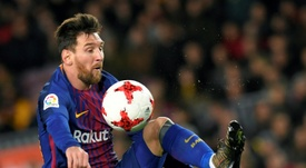 Depuis septembre 2007, Messi n'était pas sorti avant la 60ème minute. AFP