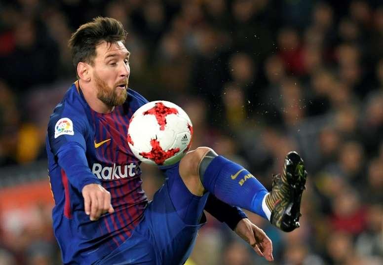 L'affaire touchant Messi et le Barça s'épaissit. AFP