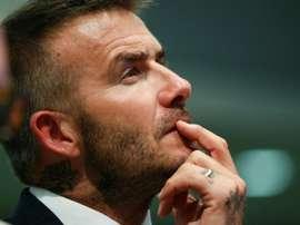 Beckham's speeding fine was upheld by a judge in court this week. AFP