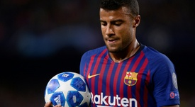 Marcelino is desperate to sign Rafinha from Barca. AFP