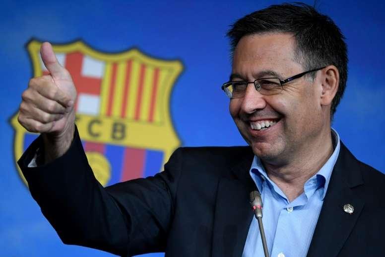 Bartomeu reviewed Barca's current situation. EFE