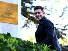 Aymeric Laporte, central do Athletic Bilbau, chamado para o confronto com a Espanha. AFP