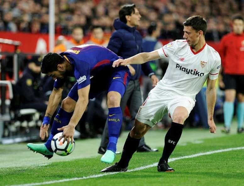 Le Barça veut un nouveau Français. AFP