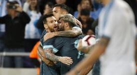 Amical: le Messi en terre sainte, victoire pour Israël. AFP