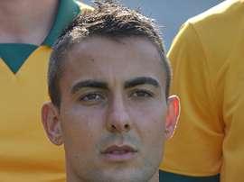 Le gardien international australien Mark Birighitti, à Sydney le 23 mai 2014