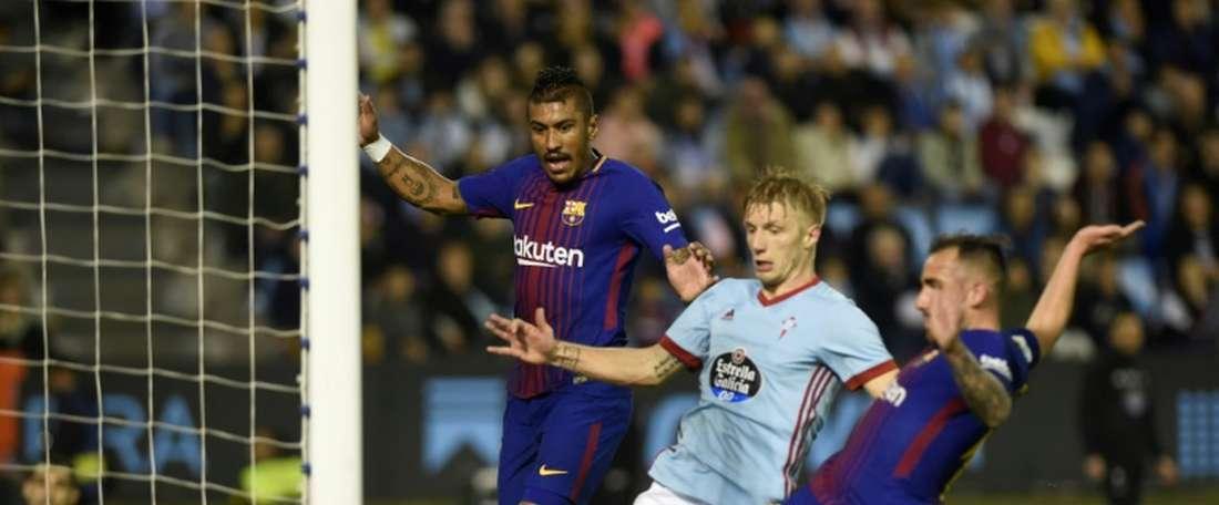 Barcelona empata nos Balaídos.