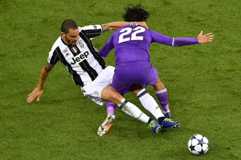 Leonardo Bonucci a choisi Cristiano Ronaldo. AFP