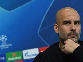 Guardiola e os problemas com grandes estrelas. AFP