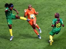 Lailière néerlandaise Shanice van de Sanden lors du Mondial 2019 le 15/06/19. GOAL