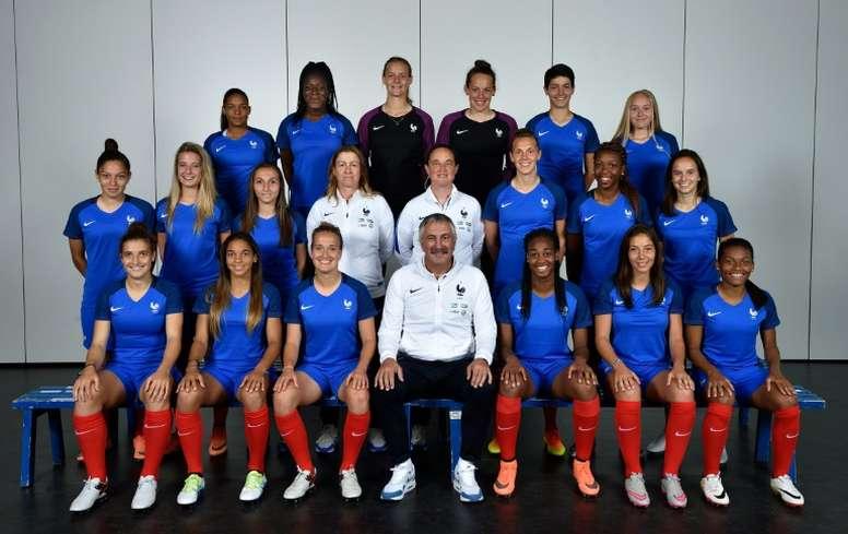 L'équipe de France féminine U19 a son ticket pour la finale de l'Euro. AFP