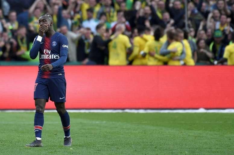Diaby puede recalar en el Bayern Leverkusen. AFP