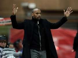 Lentraîneur de Monaco Thierry Henry. AFP