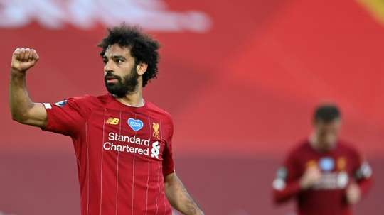 Salah wants to stay at Liverpool. AFP