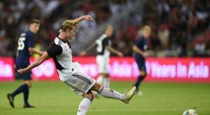 De Ligt é defendido pela Juventus. AFP