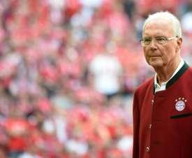 Beckenbauer apuesta por una reconstrucción de Alemania. AFP