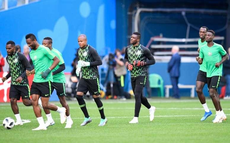 Nigeria quedó eliminada del Mundial. AFP