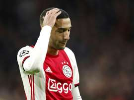 Ziyech reveals Monchi tried to take him to Sevilla. AFP