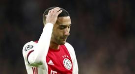 El Ajax cae en Bolsa tras su eliminación. AFP