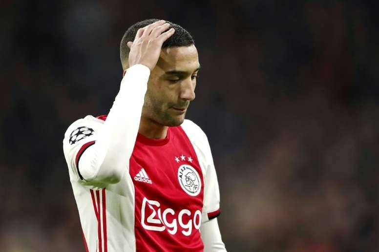 Acordo Ajax-Chelsea por Ziyech. AFP
