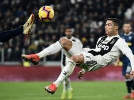 Cristiano volvió a marcar. AFP