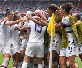 Les Américaines championnes du monde pour la 4e fois. AFP