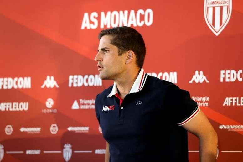 Cogió las riendas del Mónaco en diciembre de 2019. AFP