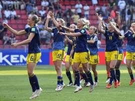 La Suède boute l'Allemagne hors du dernier carré. AFP