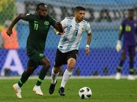 Técnico da Inter, interessado em Victor Moses. AFP