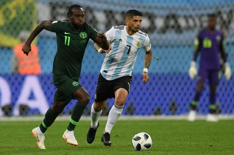 Victor Moses interesa al Inter. AFP