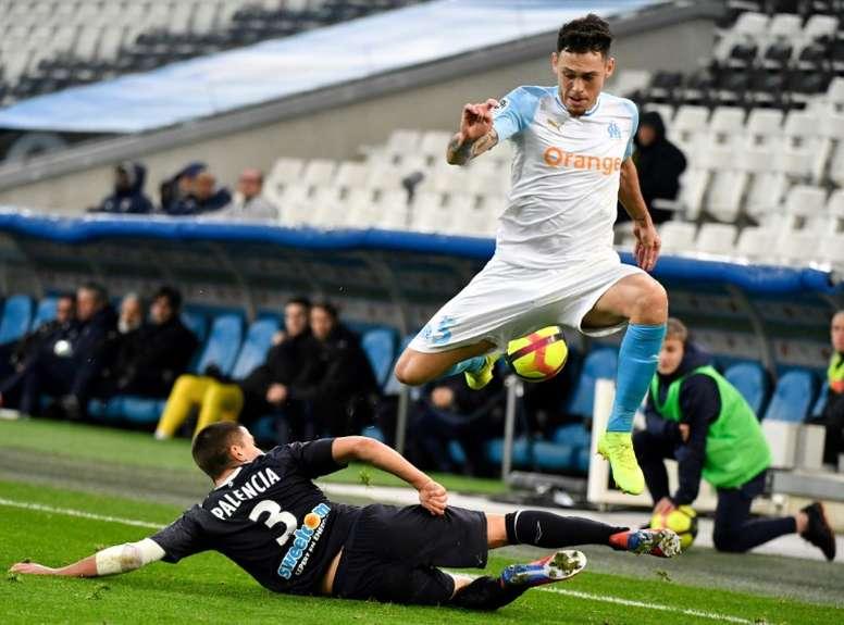 Palencia est un membre important des Girondins. AFP