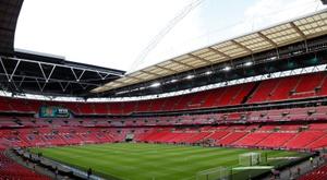 Wembley se met à disposition des autorités sanitaires. AFP