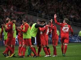 Les Herbiers alcanzó la final de la Copa de Francia. AFP