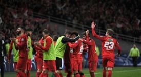 Les Herbiers sont en finale de Coupe de France. AFP