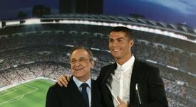 Ronaldo has told Florentino Perez to sign William Carvalho. AFP