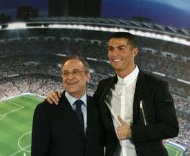 Ronaldo is a legend at Madrid. AFP