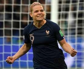 Francia se divierte en su estreno Mundial. AFP