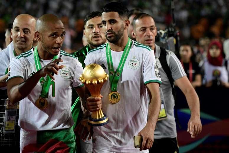 Brahimi va rejoindre le Qatar. AFP