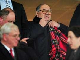 Usmanov quiere meterse de lleno en el fútbol inglés. AFP