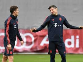 O sonho não realizado de Lewandowski. AFP