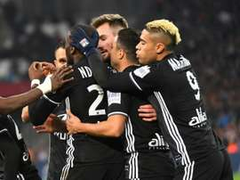 Importante victoria del Lyon ante el Marsella. AFP